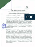 Jefe de ODECMA Ayacucho informa sobre trabajo de la Mesa Anticorrupción Ayacucho 2012
