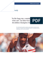 An interview with Olympic decathlon champion Dan O'Brien
