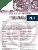 Curso de Realizacion Estereoscopica