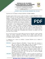 INFORME DE RENDICÓN DE CUENTAS - SECTOR DEPORTE VIGENCIA 2012