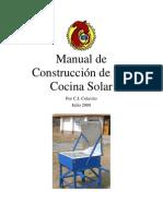 Manual de Construccion de Cocina Solar