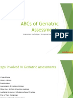 ABCs of Geriatric Assessments