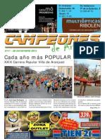 CAMPEONES de Aranjuez Nº 47 28-dic-12