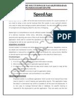 SpeedAge Abstract