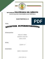Superheterodino Electronica