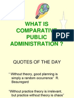 fred w riggs the ecology of public administration