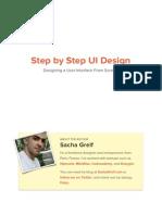 Step By Step UI Design