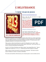 2013 Happy New Year in Jesus