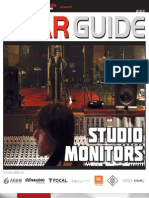 Studio Monitors Gear Guide 2013