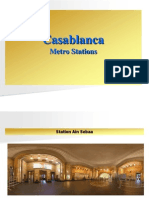 Casablanca Metro Stations