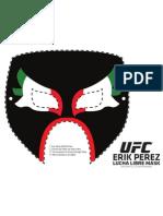 UFC Goyito Power Cut out mask