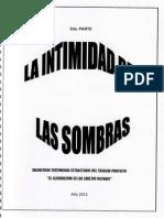 La Intimidad de Las Sombras. Jorge Oropeza Orellana