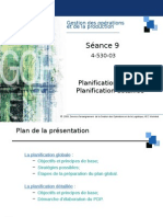 planification generales