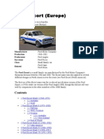 Ford Escort (Europe)