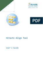 Hitachi Align Tool User Guide