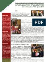 Academie Inscriptions Belles Lettres Bulletin Information 113