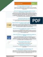Listado de Ferias de Alimentación y Gastronomía nacionales e internacionales año 2013