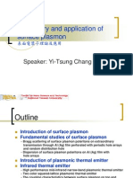 The Theory and Application of Surface Plasmon