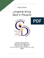 Shepherding God's People Instructors Guide