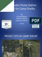 Wastewater Pump Station Presentation
