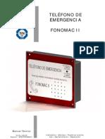 TELÉFONO DE EMERGENCIA FONOMAC II