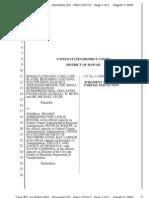 Judge Tashima's order in Honolulu rail transit lawsuit