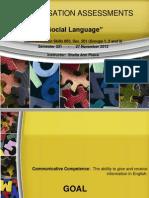 Conversation Assessments (2)- Groups 1, 2 and 3 Sec. 201 (Sem. 331)