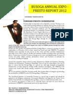 Naava Nabagesera Busoga Annual Expo PRESTO Report