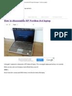 How to Disassemble HP Pavilion Dv4 Laptop __ Inside My Laptop