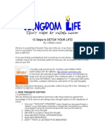 13 Steps to Detox Your Life