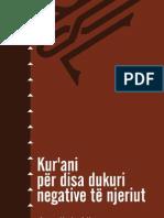 Ataullah Aliu-Kur'Ani Per Disa Dukuri Negative Te Njeriut