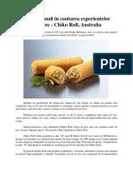 In jurul lumii in cautarea experientelor culinare - Chiko Roll, Australia