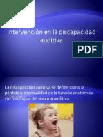 Discapacidad auditva