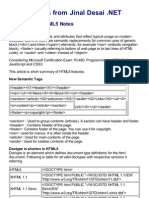 Exam 70-480 HTML5 Notes at Jinal Desai .NET
