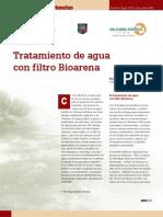 Tratamiento de Agua Con Filtro Bioarena