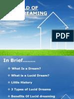 Presentation on Lucid Dreaming