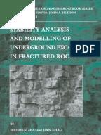 Design Analysis In Rock Mechanics Second Edition Pdf