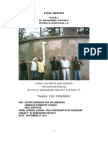 Final Report Phase One of El Maneadero Project by Enrique Lozano
