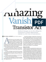 The Amazing Vanishing Transistor Act