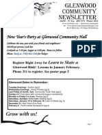 Glenwood Community Newsletter December 2012