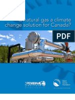 Is Natural Gas a Climate Change Solution for Canada