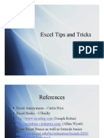 Excel Tips Tricks