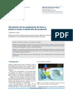 Vinculación de las asignaturas de física y diseño a través el desarrollo de productos