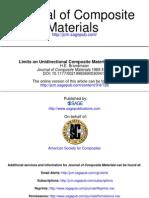 Limits on Unidirectional Composites