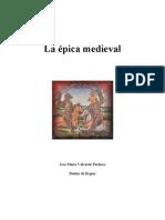 MartIn de Riquer - La Épica Medieval Europea