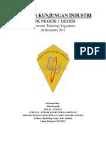 Contoh Format Laporan Kunjungan Industri (FORMAL)