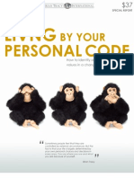 Living by Your Personal Code b