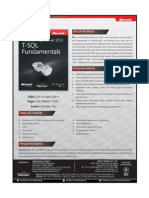 Microsoft SQL Server 2012 T-SQL Fundamentls
