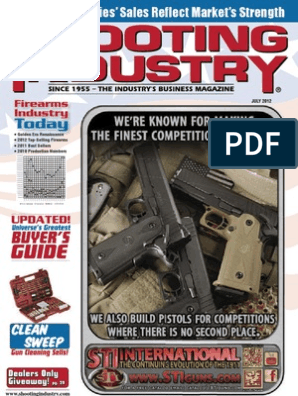 Shtng Industry July 2012 | Firearms | Projectile Weapons