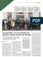 2012 12 28 Los Partidos No Ven Prioritario Aprobar Ahora Una Ley de Huelga